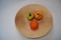 Eschenholzschale groß klassisch Obst2 - SG7